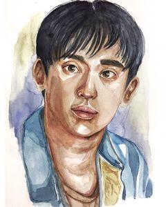 Portrait of Kim Soo Hyun