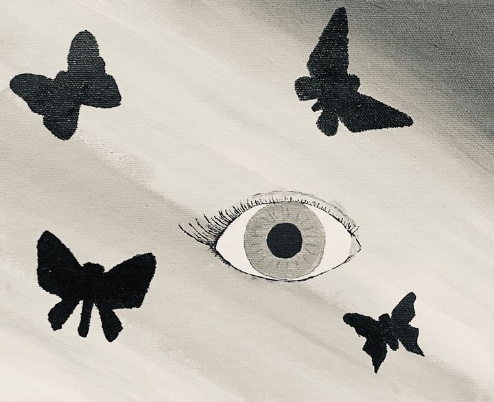 Eye of the butterfly - Katie Ernest