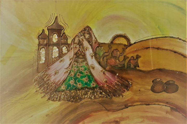 Dancing Folk - Religious Art