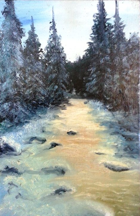 WINTER RIVER - Sav