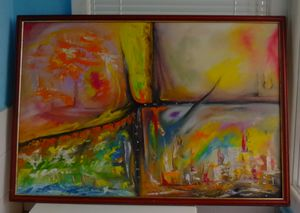 Abstract 62 x 90