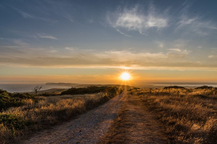Island starburst Sunset - Natural Light Photography