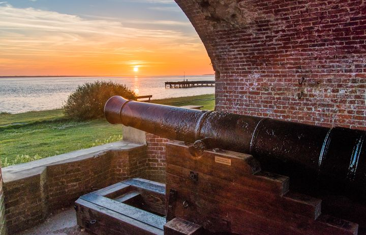 Sunrise at Victorian Fort - Natural Light Photography