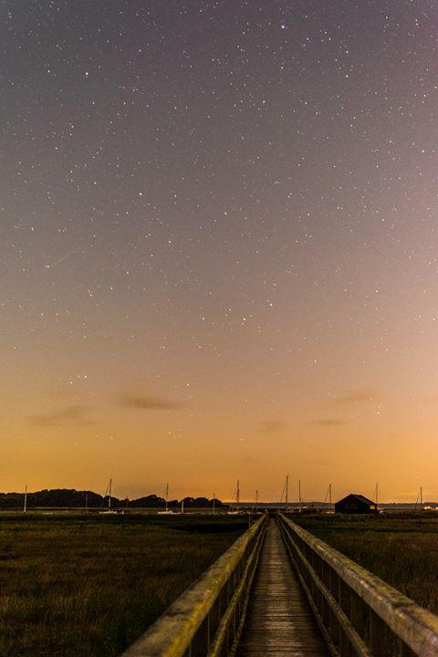Bridge to the stars - Natural Light Photography