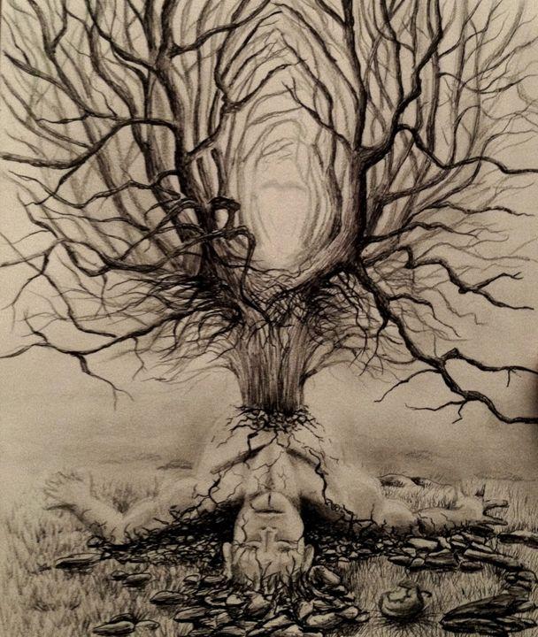 The Sin - Jennifer Doehring Art