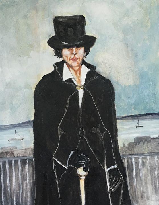 """Androgynous"" - Anne N Buffington, Artist"