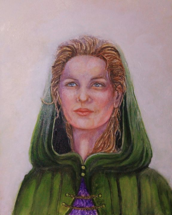 The White Queen - Anne N Buffington, Artist