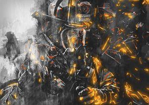 Firefighter - battling the Beast - Aota