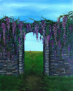 """Beyond the purple wall"""