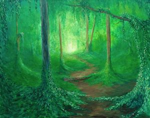 """Silent enchanted stroll"""