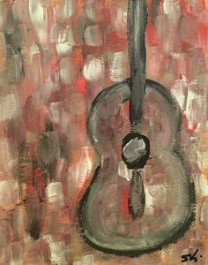 Guitar Abstract - Steven Calapai Published Artist