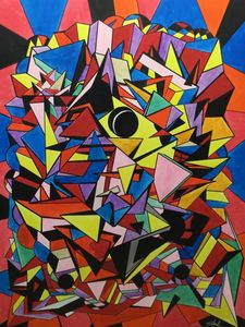 Geometric Abstract - Steven Calapai Published Artist