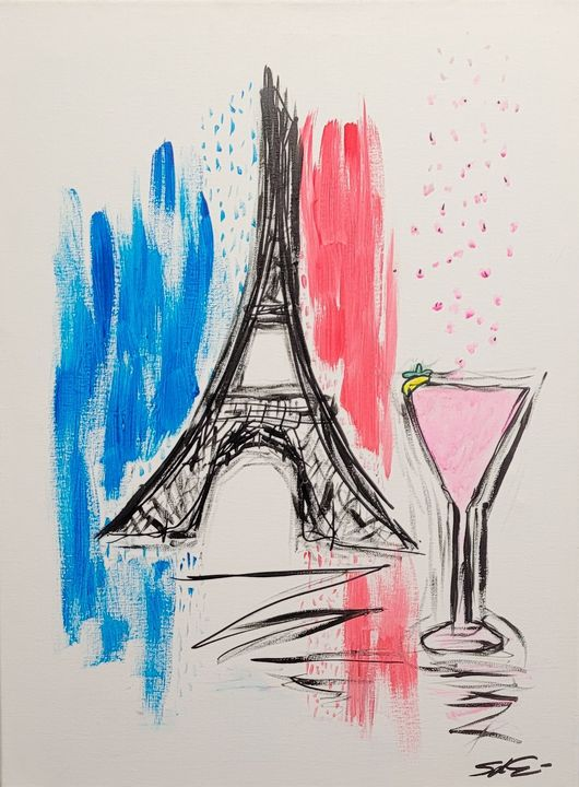 "C""est Lavie Paris, France - Steven Calapai Published Artist"