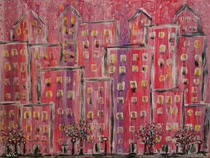 Spring in the City - Steven Calapai Published Artist