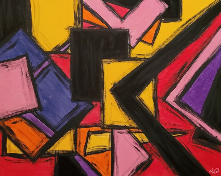 Windows and Frames in Abstract - Steven Calapai Published Artist