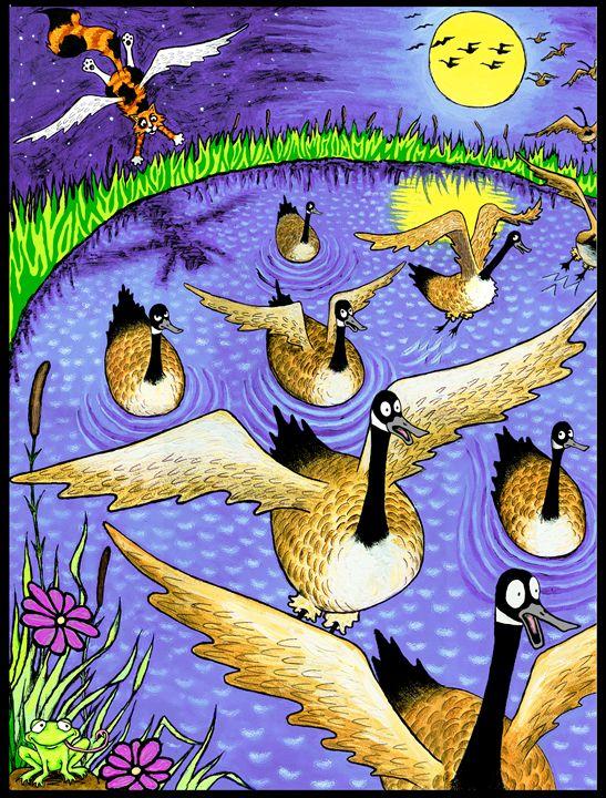 Wild Goose Chase - Annie Waldusky