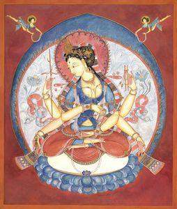 Prajnaparamita, the Wisdom Goddess