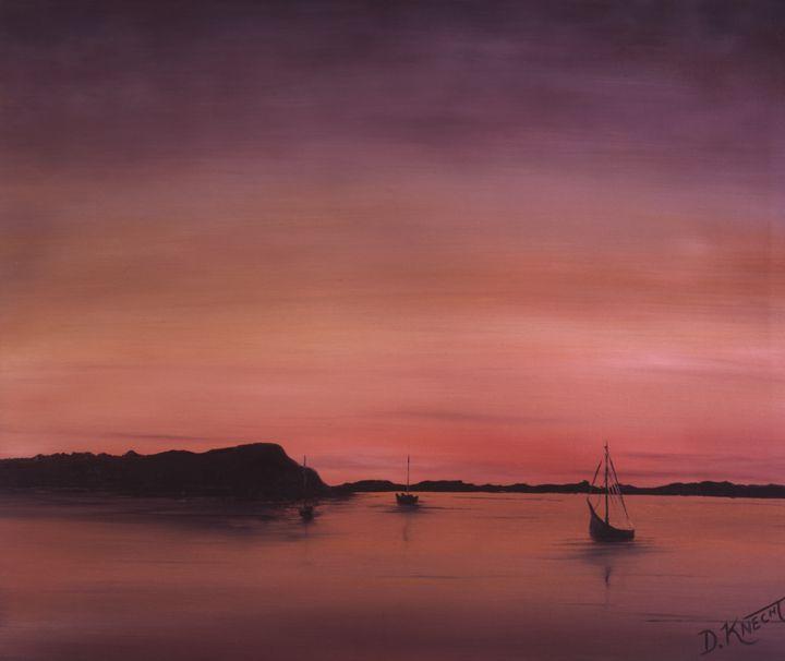 """AK87- """"SUNSET IN THE BAY"""" - Dennis Knecht"""