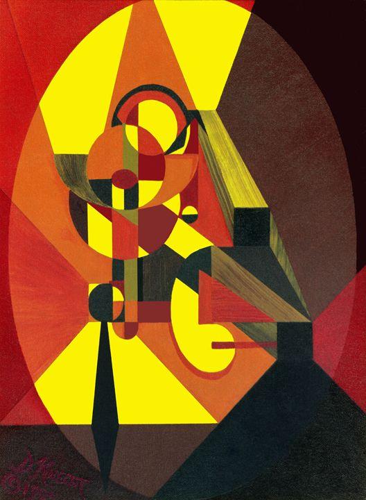 """AK 12- """"Wooden Progressions 1"""" - Dennis Knecht"""