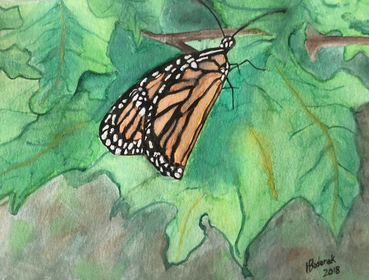 Monarch - Helen Badarak