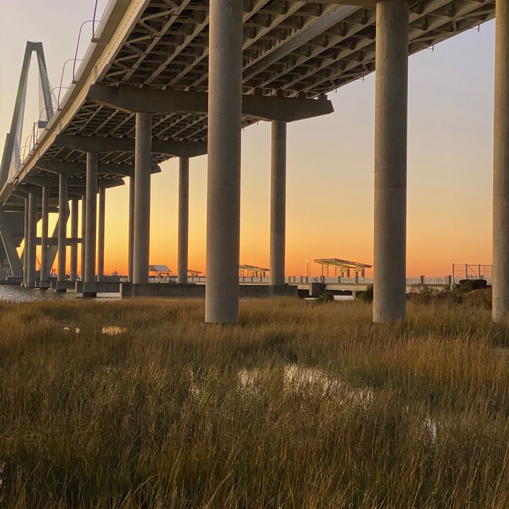 Sunset Under the Bridge - Sheryl Sabol - Through My Eyes