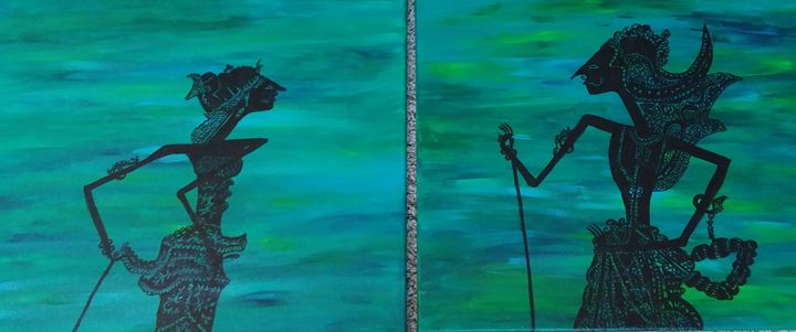Arjuna and Srikandi - Carolin Stocker
