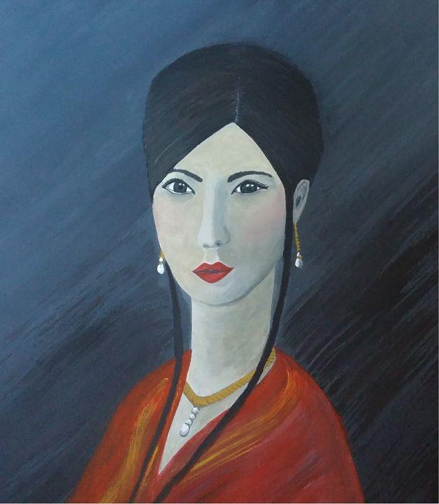 Portrait of a Tai Tai - Carolin Stocker