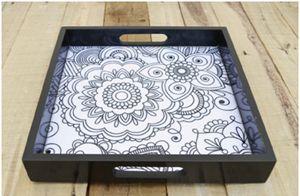 Zentangle print - KANWALNAZEER