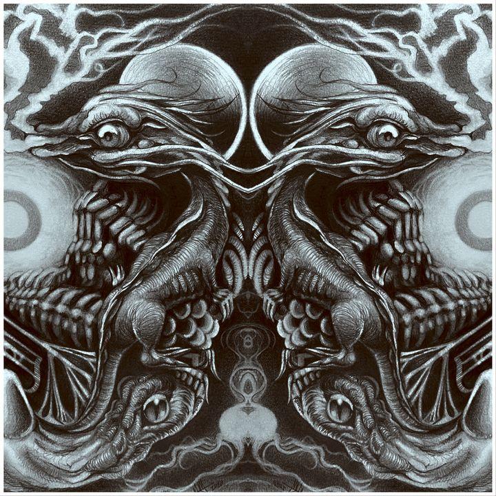 Grotesquely Symmetric - Nathan Moo