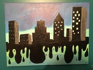 """Melting City"""