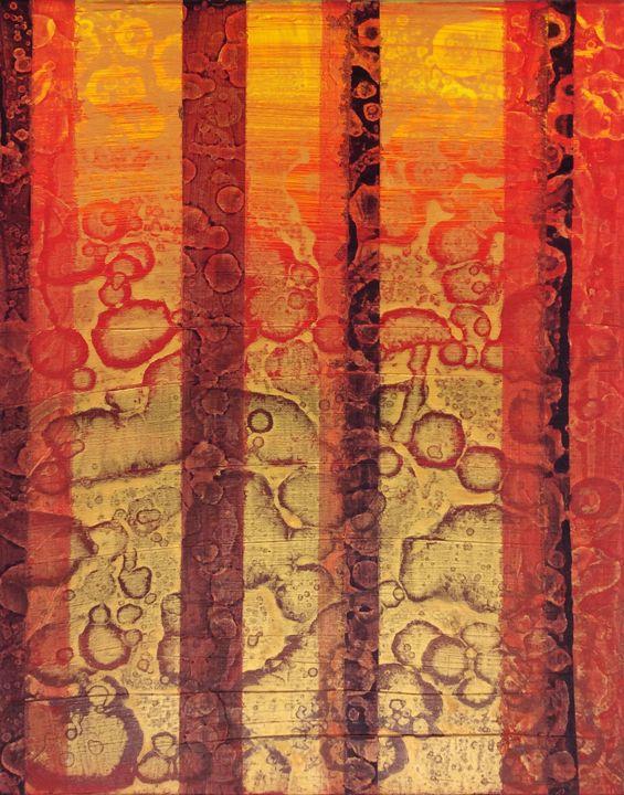 Golden sunset - Krayolas Kaos