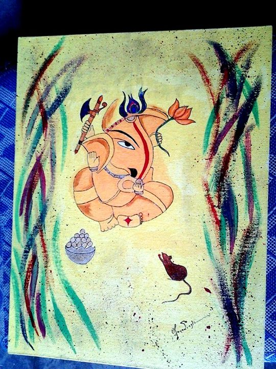God of ganesh - Arunpundirartist
