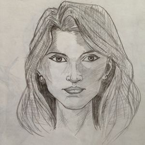 Draw Female Face