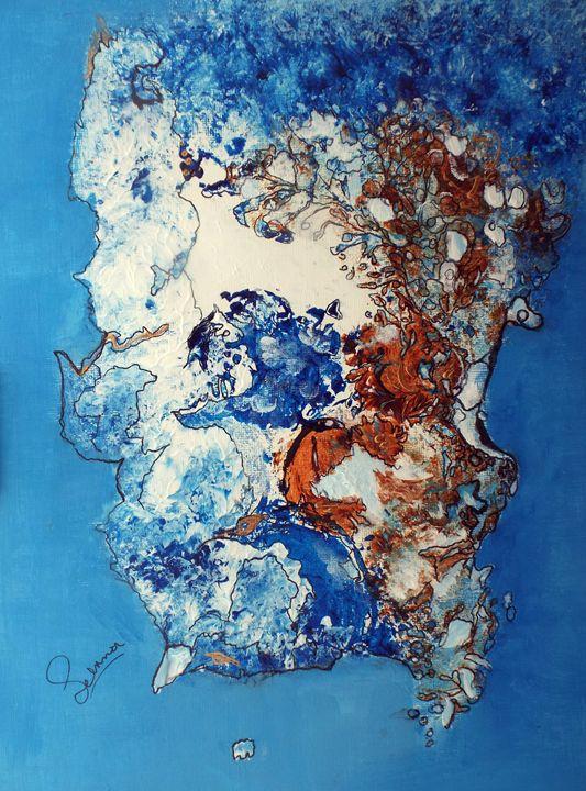 sea and rocks - Selma art