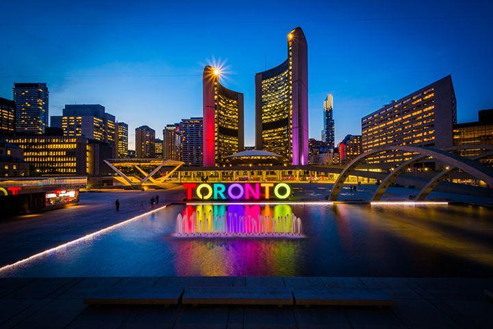 Toronto's City Hall, Nathan Phillips - artattackworld