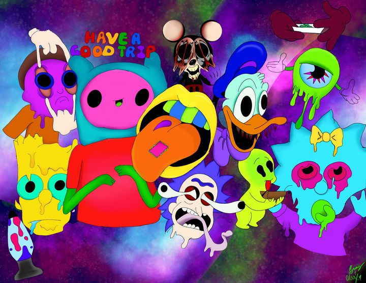 Have a Good Trip - Frankenbaby Art