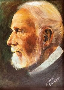 Oil Painting of a Missionary Pastor