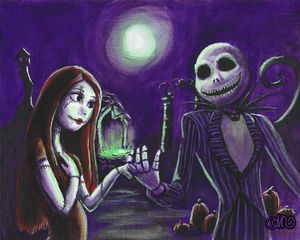 Jack and Sally in love!