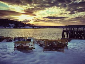 Lobster Trap Sunset #1