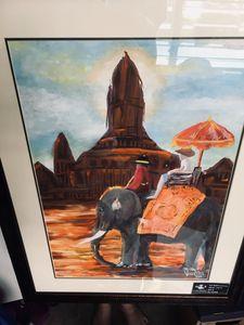 Thailand famous Elephant temple