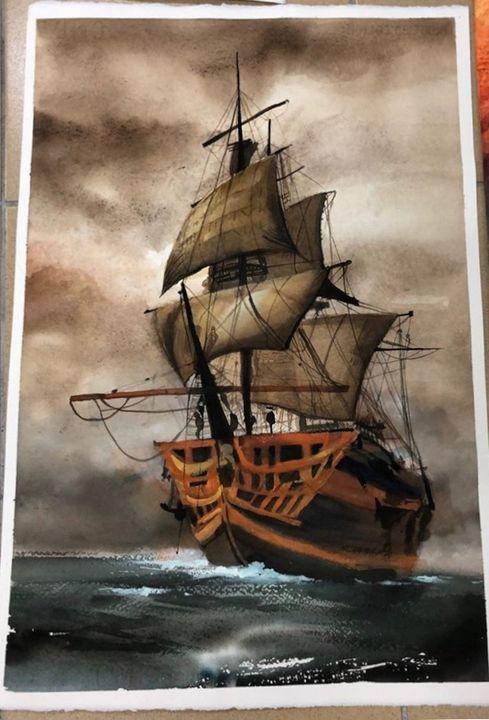 sailboat,yawl - Winnyladybaba