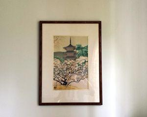 Japanese Wood -Block print