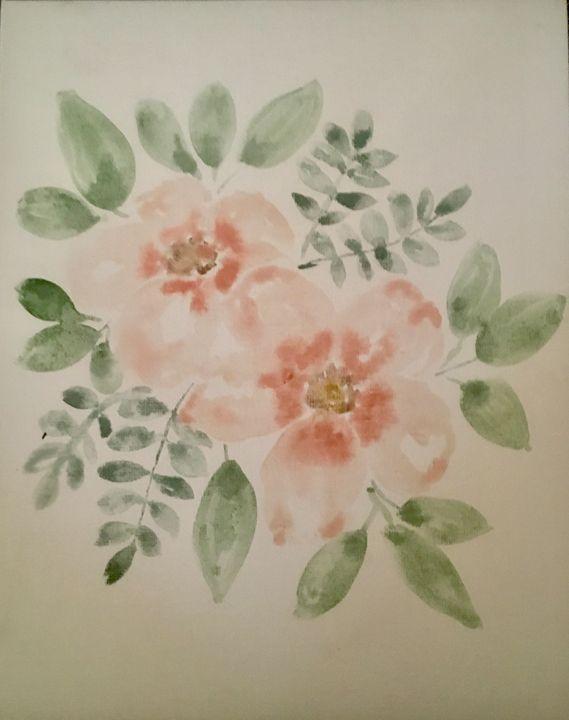 Watercolour Flowers - Abbie's Authentic Art