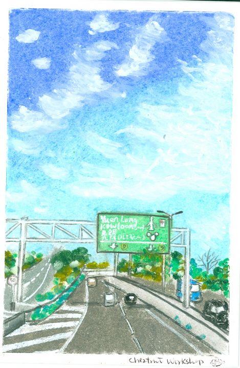Hong Kong San Tin Highways - Cheztnut Workshop - Rebecca Tsui