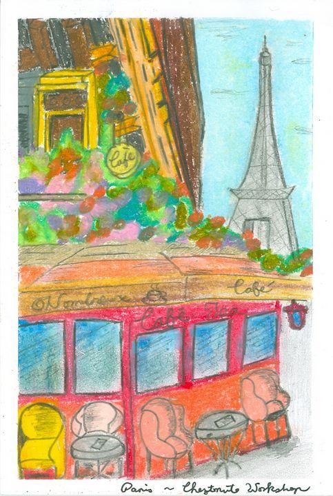 Paris - Cheztnut Workshop - Rebecca Tsui