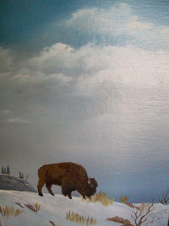 High on a Windy Hill - Fine Art by Al Johannessen