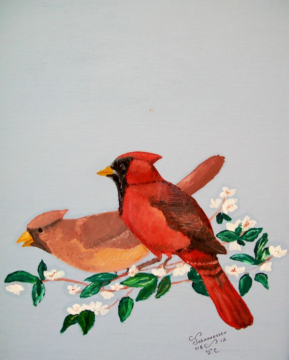 Love Blossems - Fine Art by Al Johannessen
