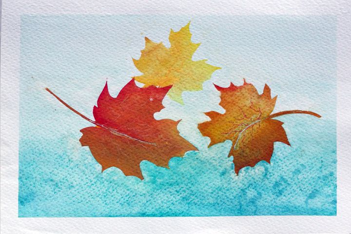 OTOÑO - WATERCOLOURS