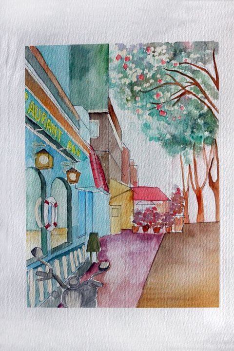 CALLE - WATERCOLOURS