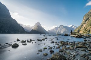 The magical milford sound at sunset - tk4arts